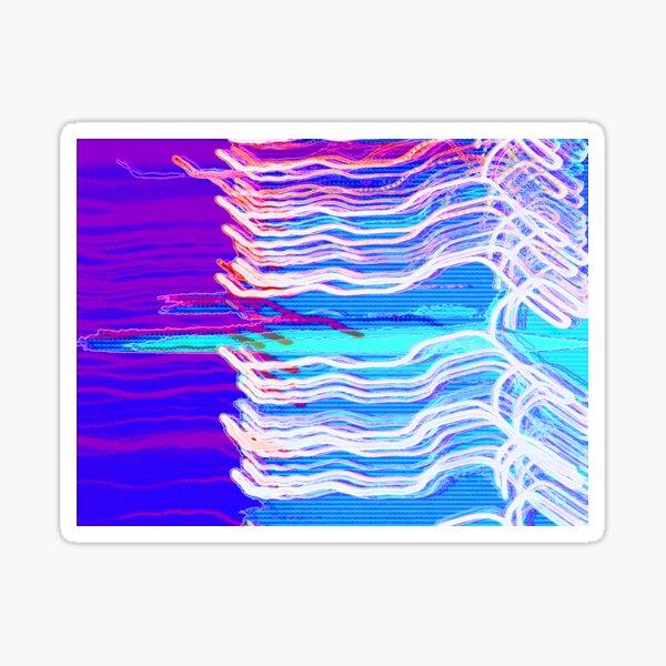 80's Surf Chillwave Sticker