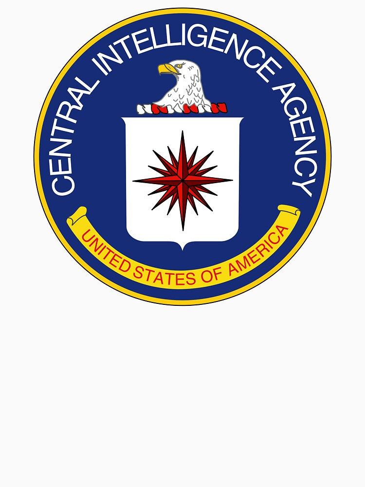 CIA Central Intelligence Agency Logo T-Shirt by equilibria