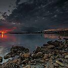 Wallis Lake Sunset Spectacular by bazcelt