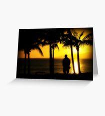 Lanzarote Sunset Greeting Card