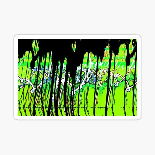 Drippy Skaterpunk Sticker