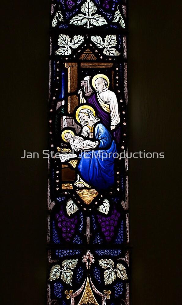 Nativity window - St Mary the Virgin, Wallaroo, South Australia by Jan Stead JEMproductions