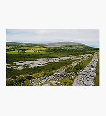 The Burren Countryside County Clare Ireland Photographic Print