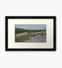 The Burren in County Clare Ireland Framed Print