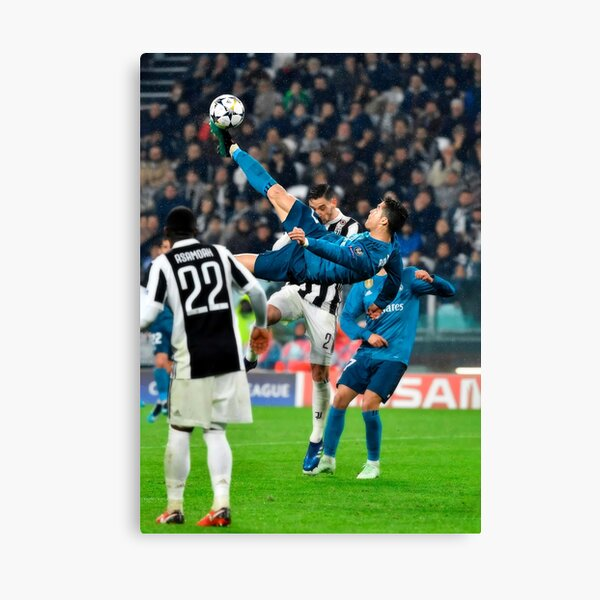 Cristiano Ronaldo Bicicleta Kick Lienzo