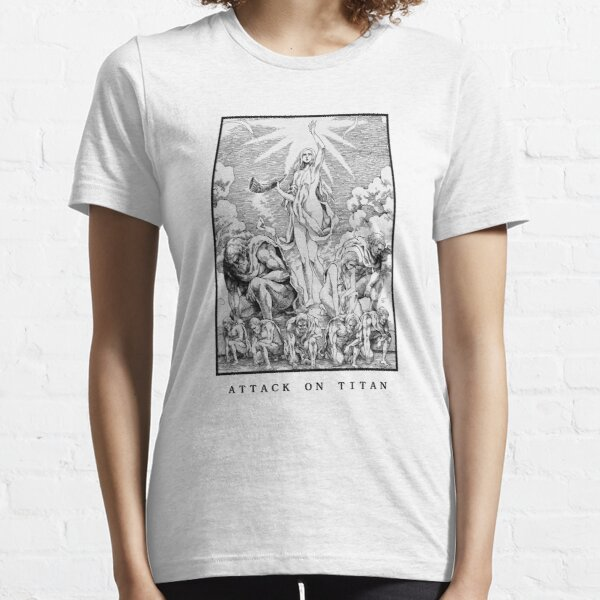 L'attaque des Titans T-shirt essentiel