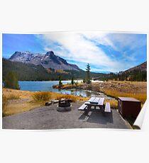Blissful Lake Poster