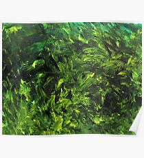 July (Moden art, oil painting for posters and prints)  Poster