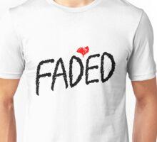Faded <3 - Black Unisex T-Shirt