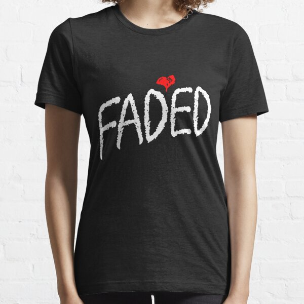 Faded <3 - White Essential T-Shirt