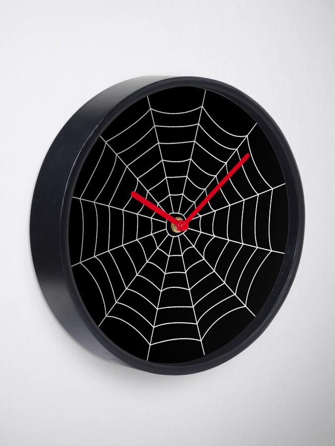 Alternate view of Spider Web Clock