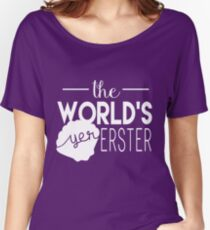 The World's Yer Erster Women's Relaxed Fit T-Shirt
