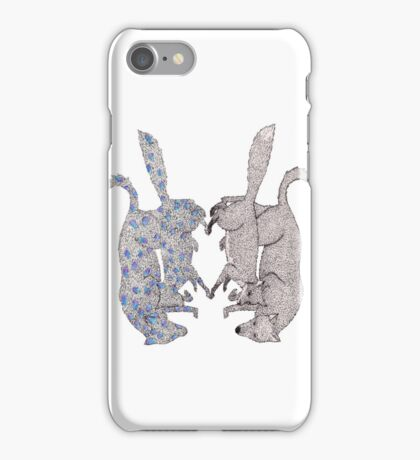 Abstract Reflextions iPhone Case/Skin