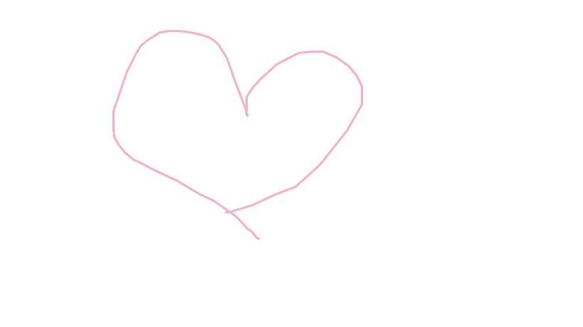 pink heart by MINADEE21