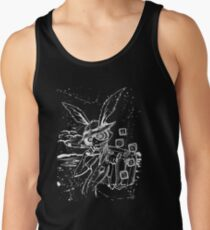 Down The Rabbit Hole (white) Tank Top