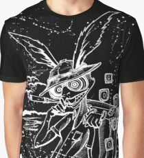 Down The Rabbit Hole (white) Graphic T-Shirt