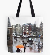 AMSTERDAM STREET BY ANNE FRANK'S HOUSE Tote Bag