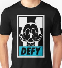 Mickey Says DEFY - Inverted T-Shirt