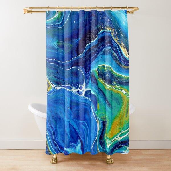 Lapis Lazuli Shower Curtain