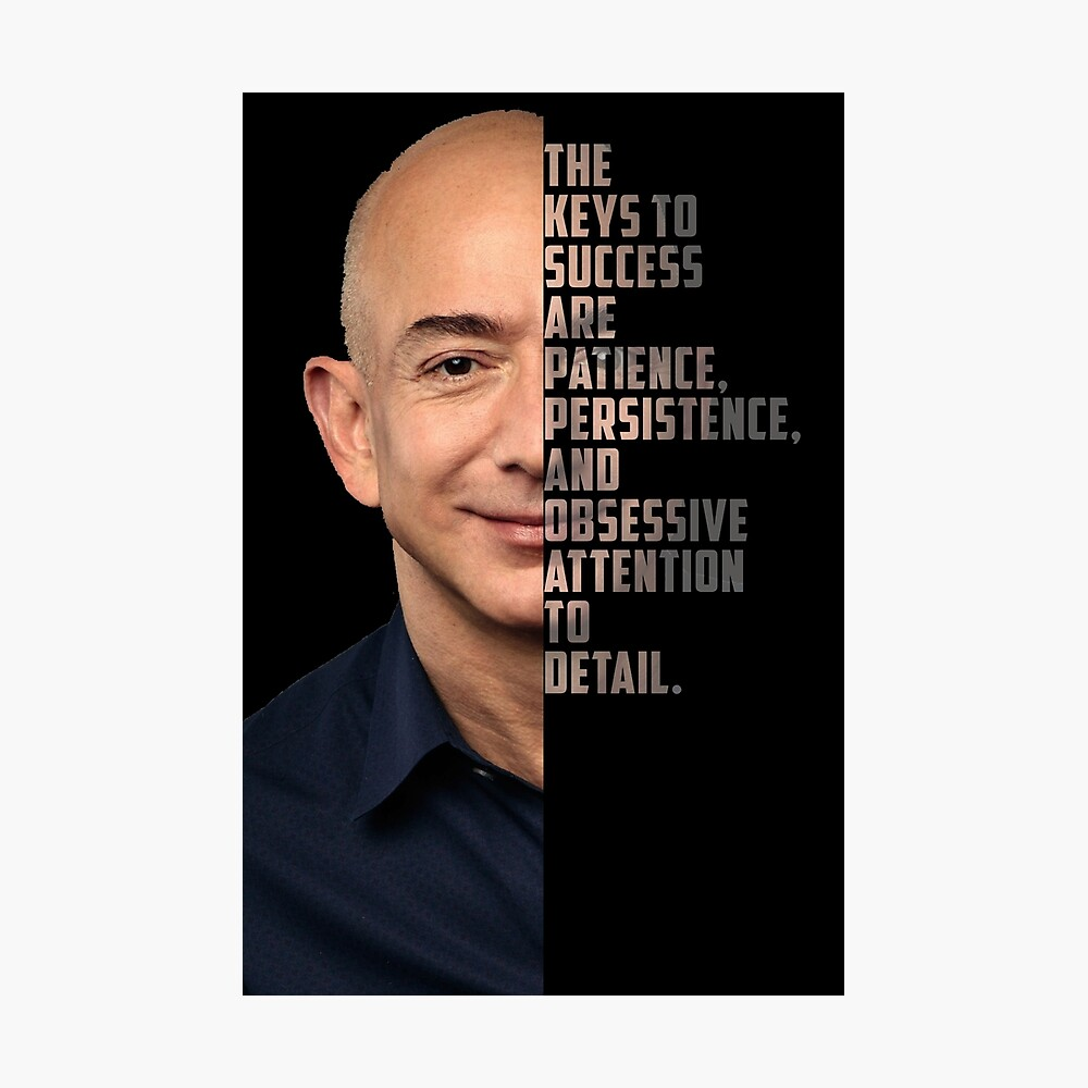 Motivational Poster Quote Jeff Bezos ...