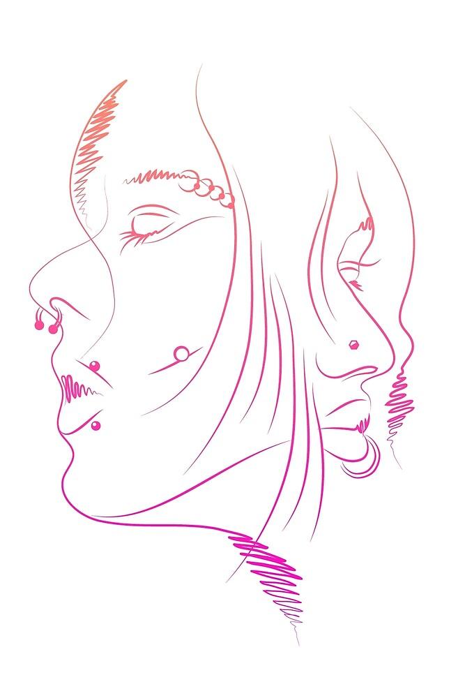 Girls Portrait - 2 by chetan adlak