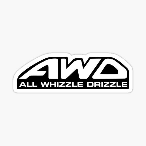 All Whizzle Drizzle Sticker