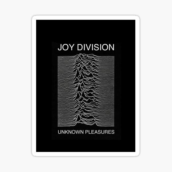 Joy Division Logo Sticker
