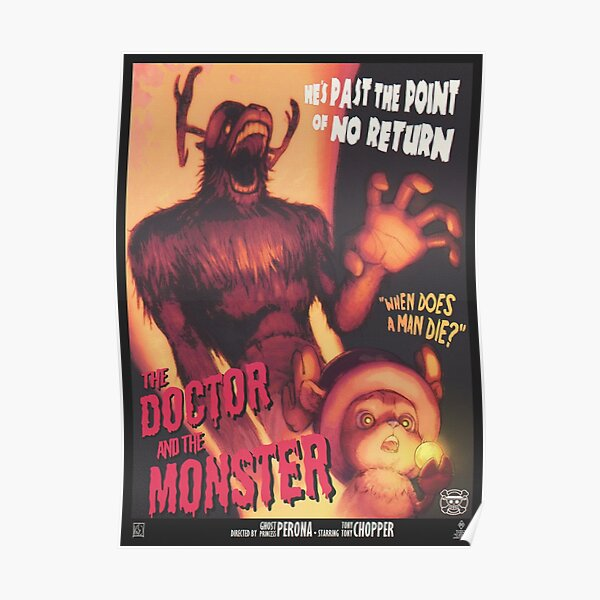 Wall art. Reproduction Vintage Horror Film advert Dr Cyclops poster