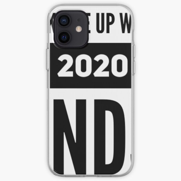 Wake Me Up When 2020 Ends iPhone Soft Case