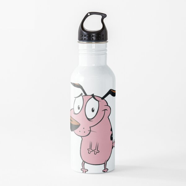Courage, the cowardly dog Water Bottle