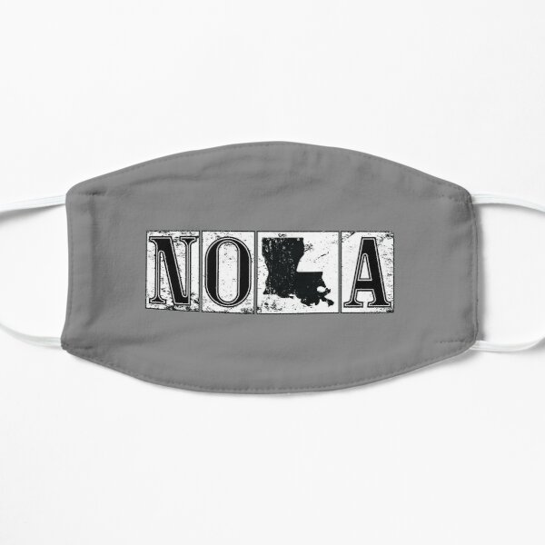 Iconic New Orleans Nola Louisiana French Quarter Street Tiles Travel Lifestyle   Mask