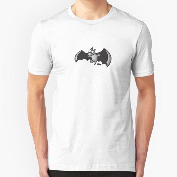 ist nachtaktiv und geht gerne über die Welt. Entworfen von Kate (www.katelein.com) Slim Fit T-Shirt