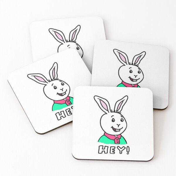 Hey, It's Buster Baxter Coasters (Set of 4)