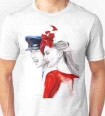 Prince William and Kate Middleton by Elina Sheripova Unisex T-Shirt