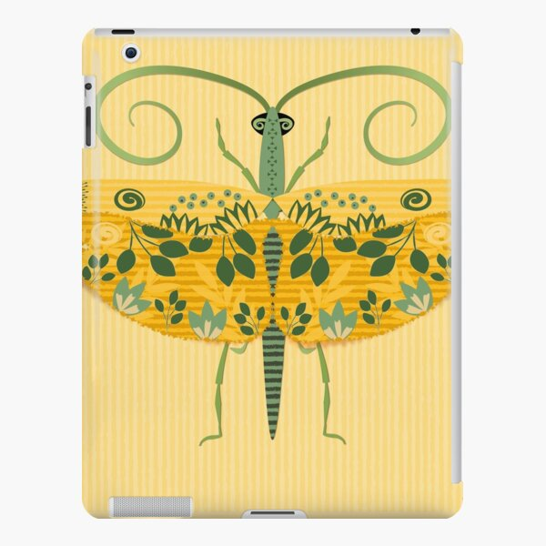 Flying Grasshopper in Yellow Gold and Green iPad Snap Case