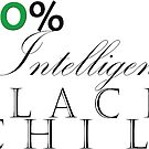 One Hundred Percent Intelligent Black Child (color) by Tiana Longmire