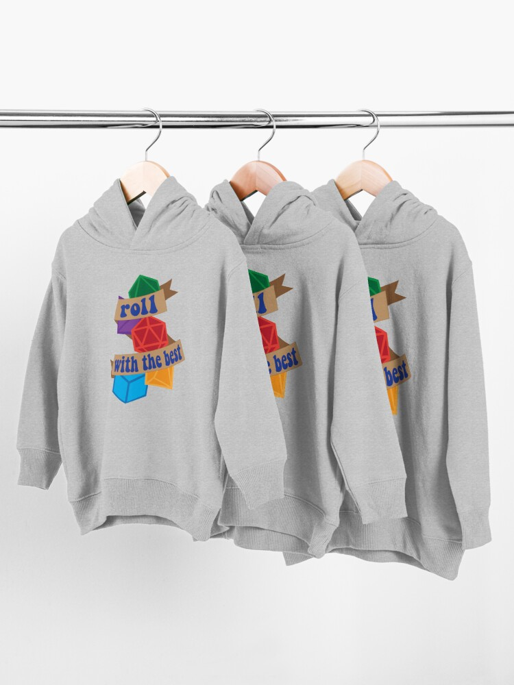 Alternate view of Roll with the Best Toddler Pullover Hoodie