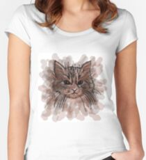 Grumpy Cat Women's Fitted Scoop T-Shirt