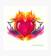 Mystic Heart Art Print