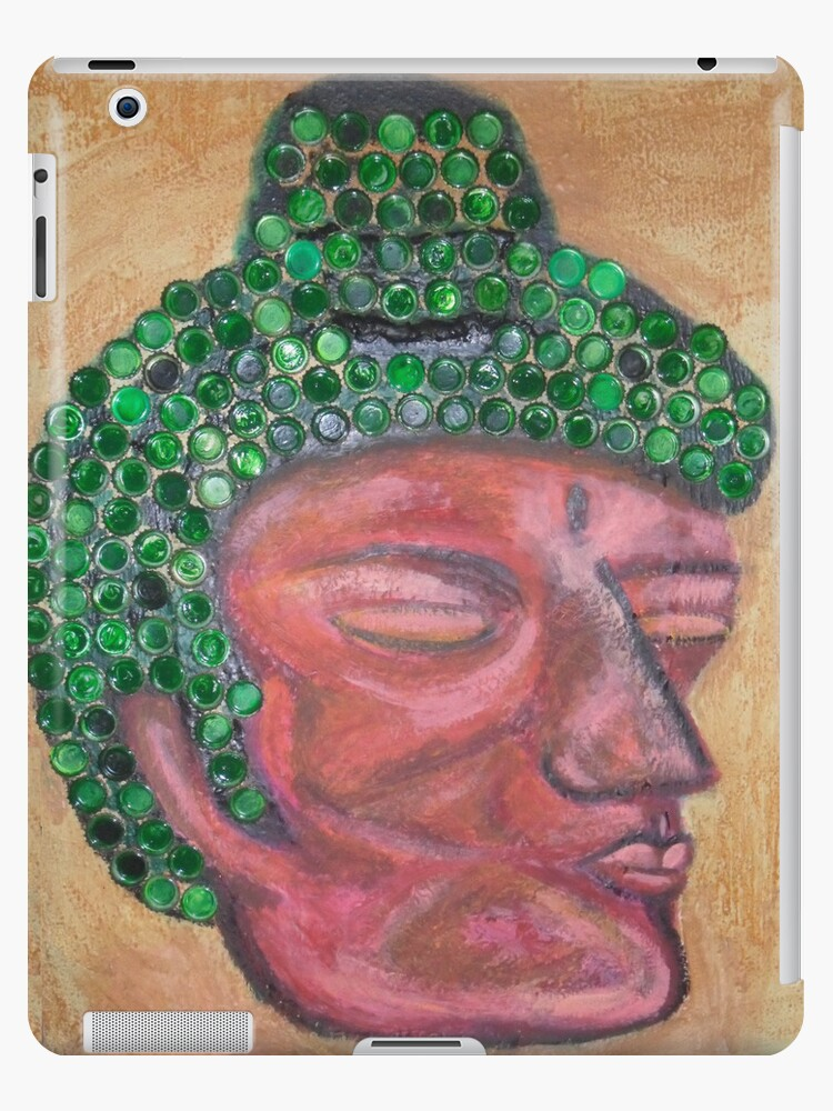 Ethnic collection 2 tablet, ipad case buda head by AnaCanas
