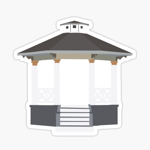 Gilmore Gazebo Sticker
