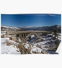 Donner Memorial Bridge (Rainbow Bridge) Poster