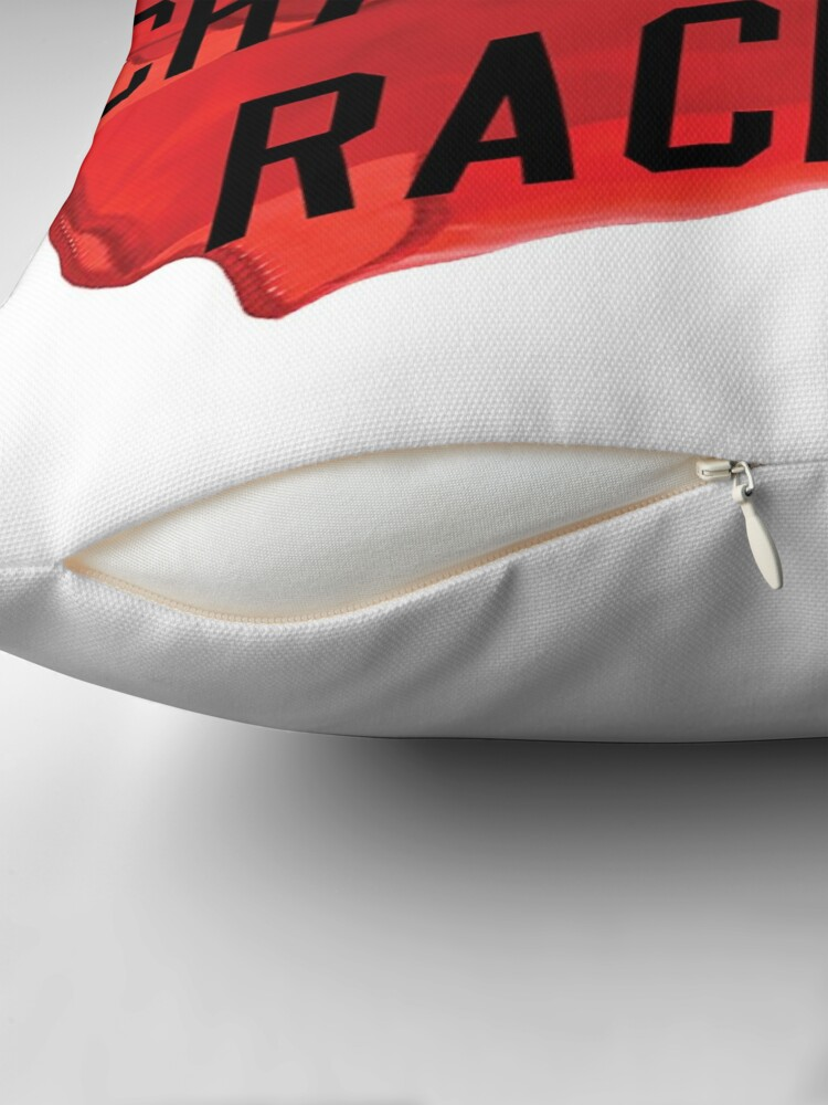 Alternate view of Challenge Racism Collection Throw Pillow