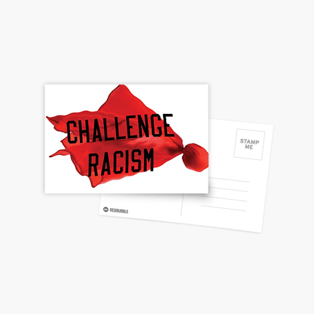 Challenge Racism Collection Postcard