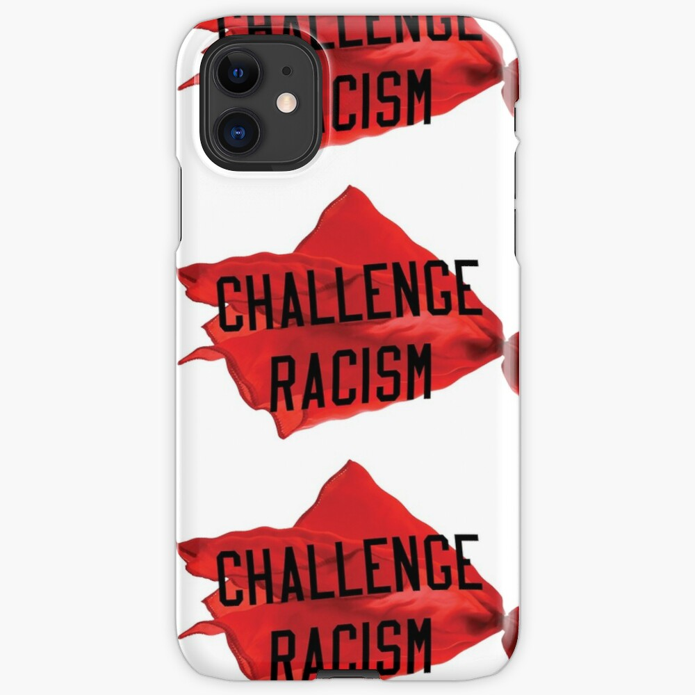 Challenge Racism Collection iPhone Case & Cover