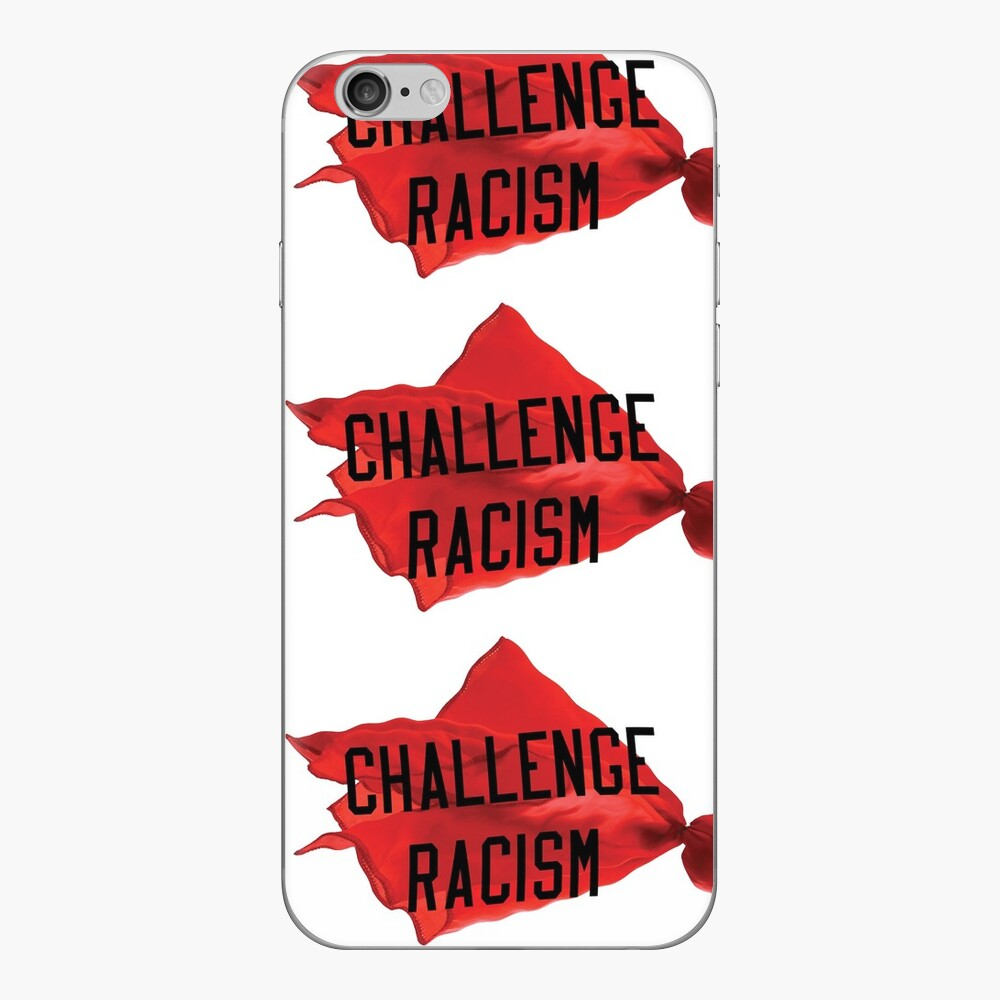 Challenge Racism Collection iPhone Skin