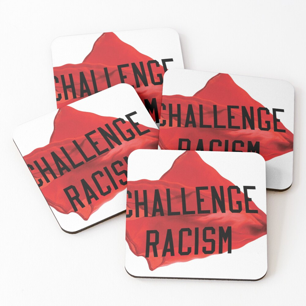Challenge Racism Collection Coasters (Set of 4)