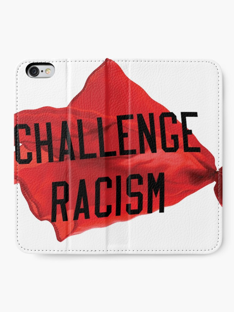 Alternate view of Challenge Racism Collection iPhone Wallet