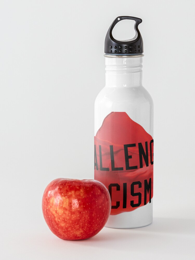 Alternate view of Challenge Racism Collection Water Bottle