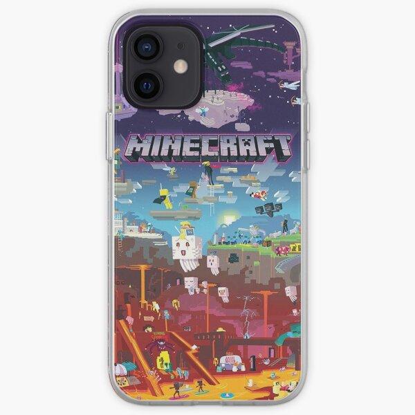 Aventures Minecraft Coque souple iPhone